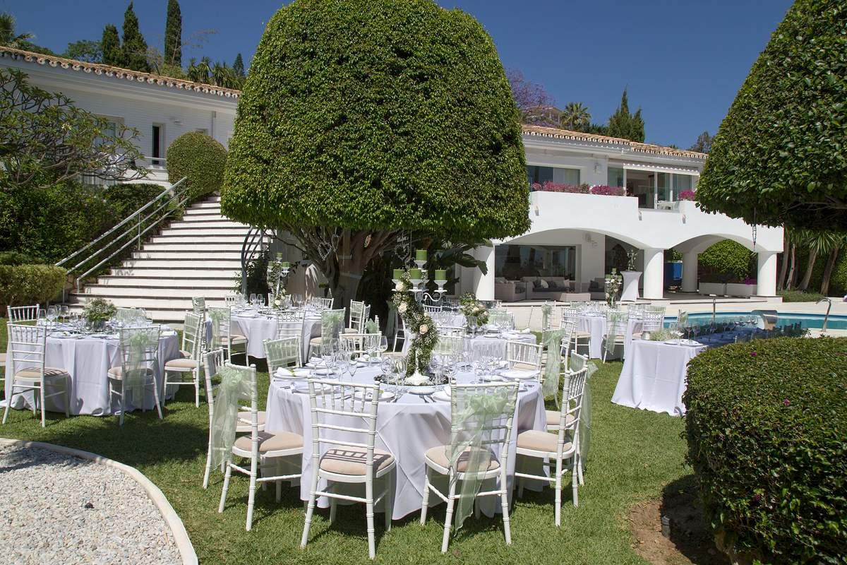 Villa Wedding Concept