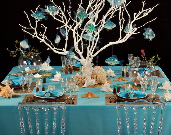 wedding table decorations sea theme image collections wedding